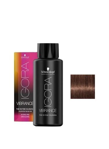 igora Igora Vibrance 668 Koyu Kumral Çikolata Kızıl Yarı Kalıcı Boya Renksiz